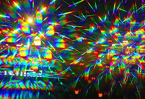 Rainbow Symphony 3D Fireworks Glasses -Planet #2 Design, Package of 1000 by Rainbow Symphony (Image #3)