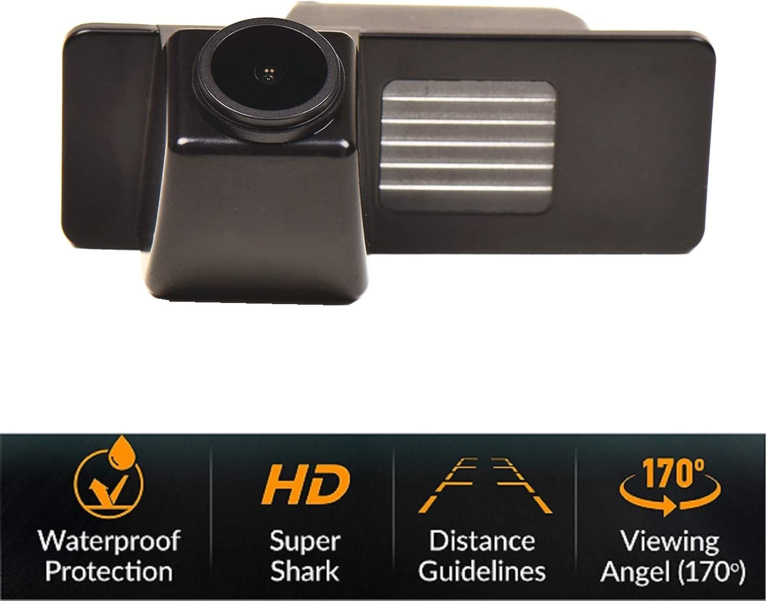 Reversing Camera Integrated in Number Plate Light License Rear View Backup Camera Waterproof Night Vision for Corvette Chevrolet Aveo Cruze Trailblazer Opel Mokka Cadillac CTS SRX Misayaee