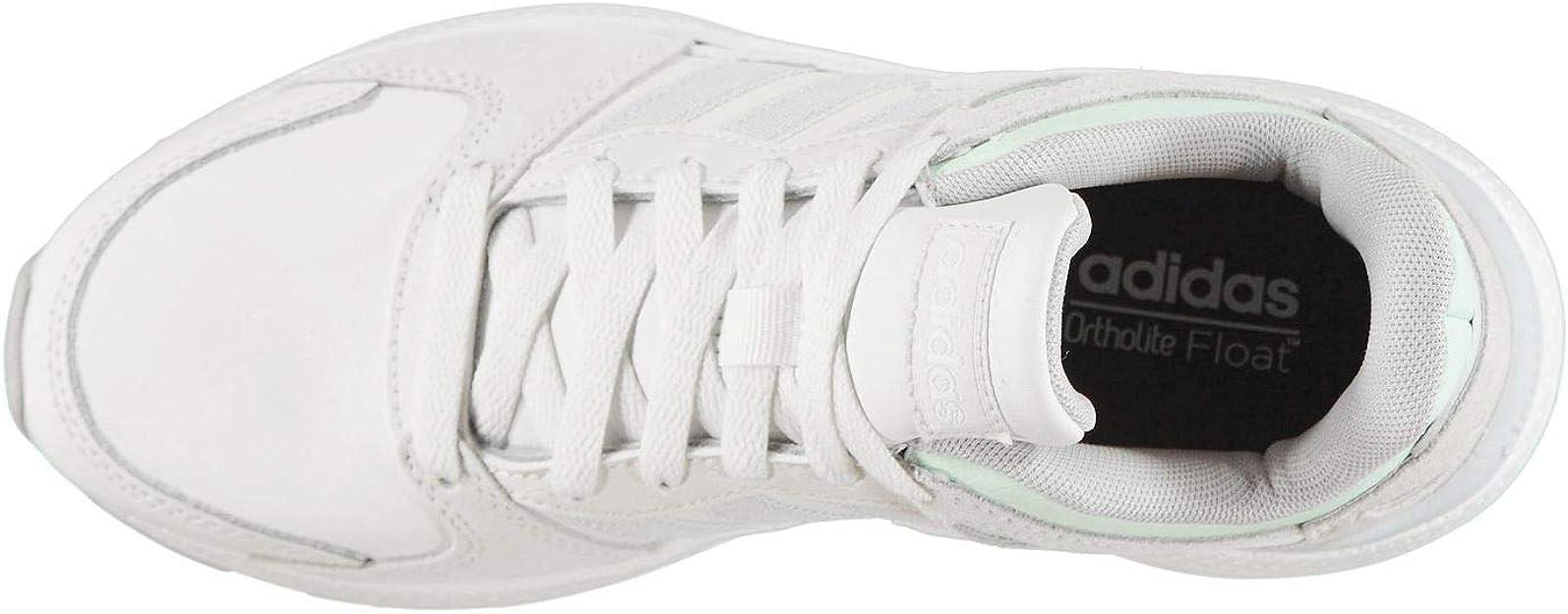 Adidas Crazychaos Zapatillas de correr acolchadas con cordones para mujer