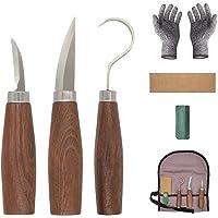SYCASE Juego de herramientas de talla de madera