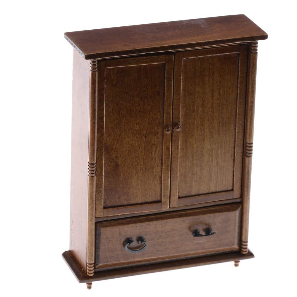 Amazon.com: ZAMTAC Home Dolls House Bedroom Furniture ...