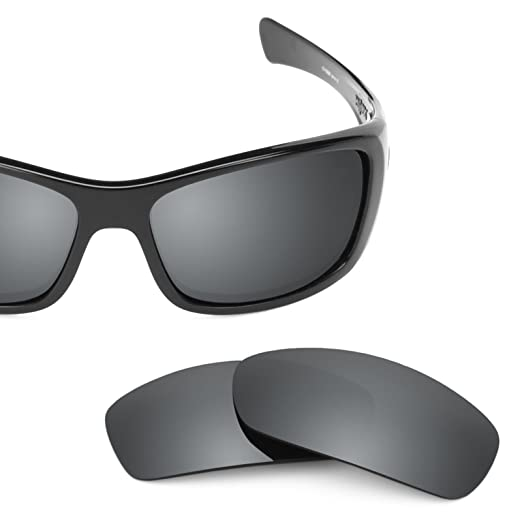 1e55367aa4 Revant Polarized Replacement Lenses for Oakley Hijinx Elite Black Chrome  MirrorShield