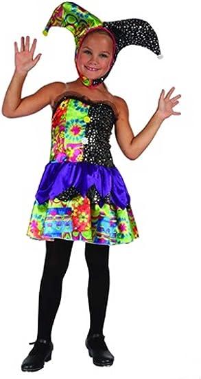 Disfraz niña Payaso - talla 6 - 8 años (120-130CM): Amazon.es ...