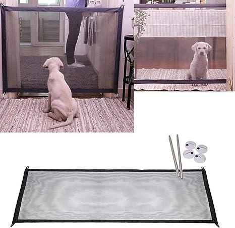 Mcgradyxm 2018 Barrera Escalera Bebe,Barrera de Seguridad Mascotas Perros (180×72 CM): Amazon.es: Productos para mascotas