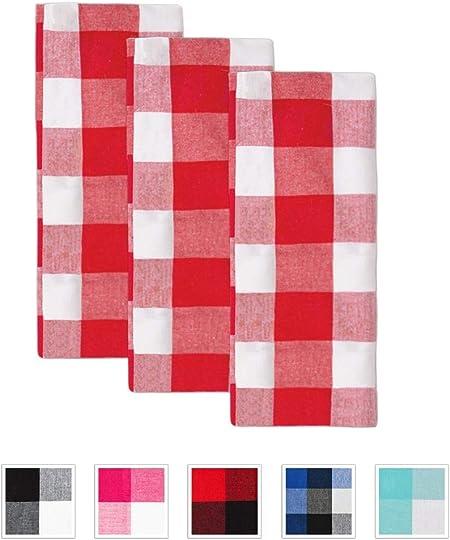 10 x SOFTI lingettes rouge rose torchons de cuisine dishcloths vaisselle chiffon de nettoyage