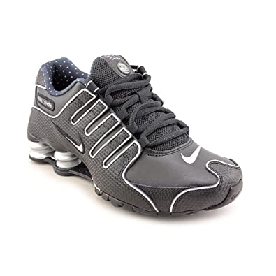 huge selection of 97ed1 89b95 NIKE Shox NZ EU, Damen Laufschuhe Schwarz BlackMetallicSilver 35
