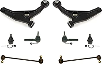 Fit For 200 Sebring Avenger Low Control Arm With Ball Joints Tie Rods 8Pc