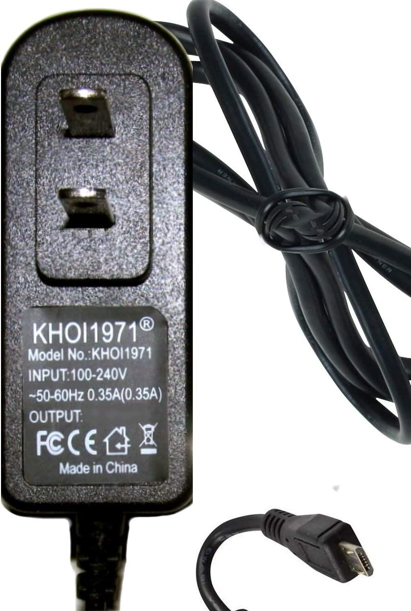KHOI1971 Wall Charger AC Power Adapter Power Cable Compatible with Bushnell Pro 1300 1500 Lumens Li Ion Rechargeable Flashlight Charger AC Adapter NOT Created or Sold by Bushnell