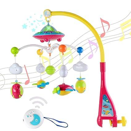 Amazon.com: Juguete musical para cuna de bebé – Wishtime ...