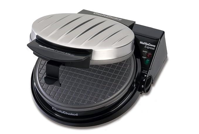 Amazon.com: Máquina para hacer conos de helado Waffle ...