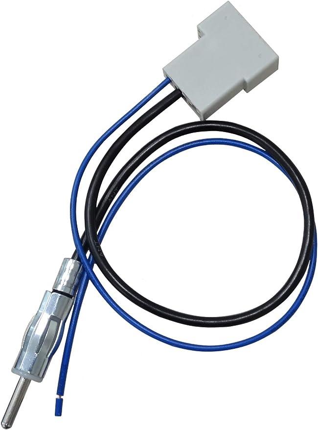 Aan2101 CD estéreo RADIO DIN EN ISO aérea Ariel Arial Adaptador antena extensión