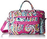 Vera Bradley Iconic Weekender Travel Bag, Signature Cotton, Wildflower Paisley