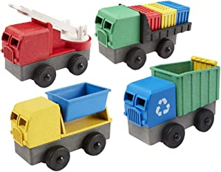 product image for Lukes Toy Factory Eco-Truck STEM Building Set - Set of 4