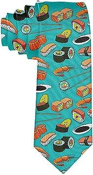 Corbata Corbatas Divertidas Mariscos Sushi Gambas Wasabi Moda ...