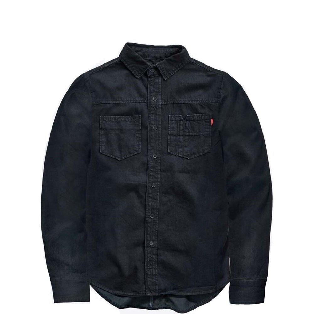Saint Durable Work Shirt for Men Perfectly Engineered Workwear Made with Dyneema (Indigo, XL)