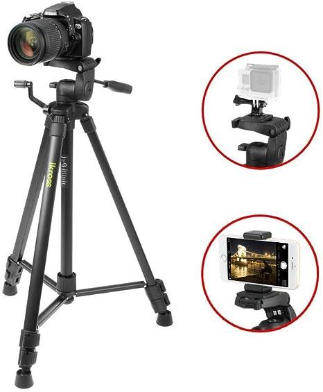 iKross Trípode Portátil de 155cm para Cámara Réflex Camera ...