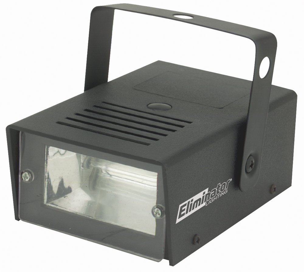 Eliminator Lighting Strobes and Par cans Mini Strobe Strobe Light