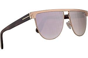 8ecdf9165a5ea Tom Ford FT0570 Stephanie-02 Sunglasses Shiny Rose Gold w Smoke Lens 60mm  28Z