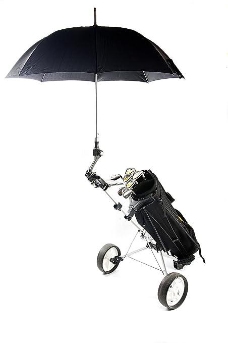 Deki Dry & Go soporte ajustable de paraguas para carros de golf, bebé/ Cochecitos