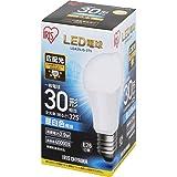 アイリスオーヤマ LED電球 E26 広配光タイプ 30W形相当 昼白色 LDA3N-G-3T5