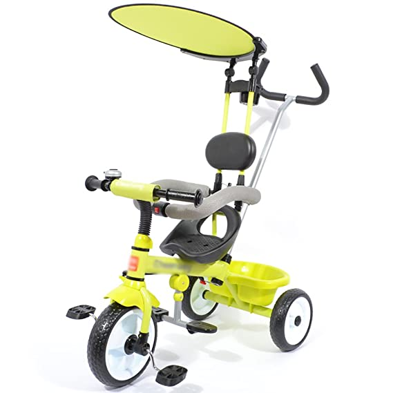 Amazon.com: Tricycle Kids 3 Ruedas Pedal Ride-On Bicicleta 1 ...