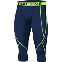 Hombres np521deportes prendas de vestir piel medias compresión