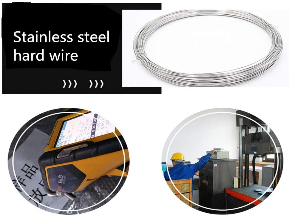 1.5mm Weight 1kg//Roll Length LOKIH Diameter 70m Stainless Steel Wire
