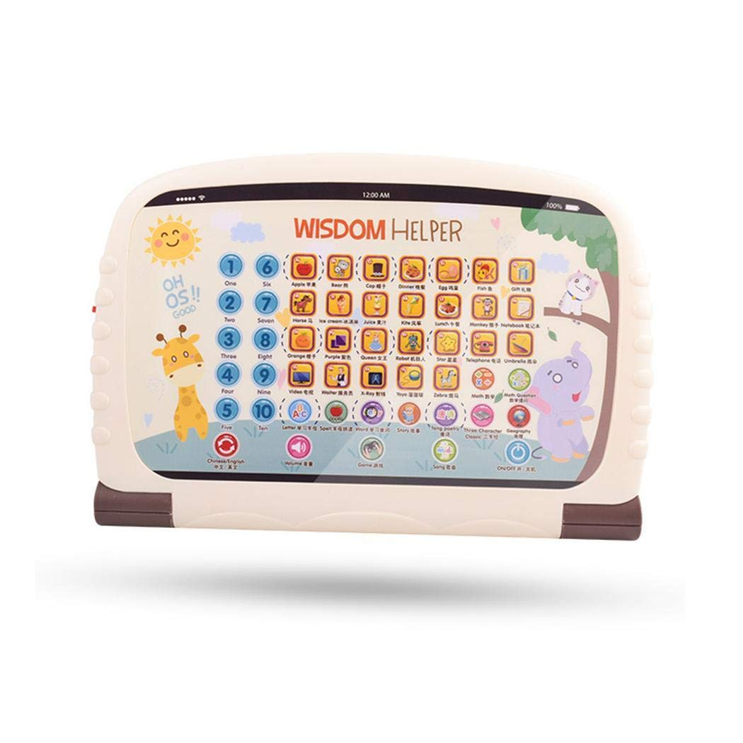 Asatr Children's Early Education Toy Learning Chinese English Reading Tablet Toy Electronic Systems by Asatr (Image #1)