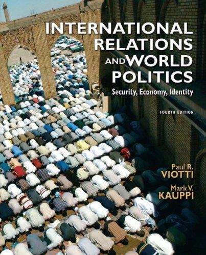 International Relations and World Politics (4th Edition)
