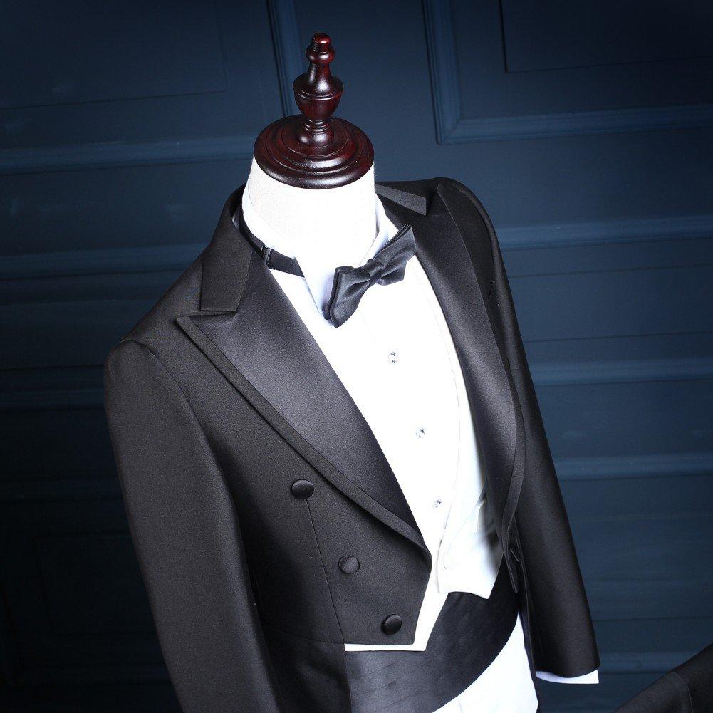 Love Dress Men's 3 Pieces Suit Groom Tuxedo(Jacket+Pants+Vest) 5XL by Love To Dress (Image #2)
