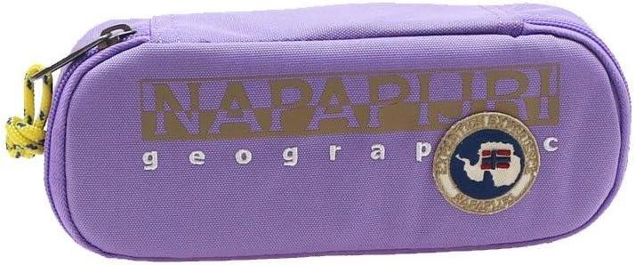 Estuche ovalado North Cape Sheer Lilac Napapijri: Amazon.es: Oficina y papelería
