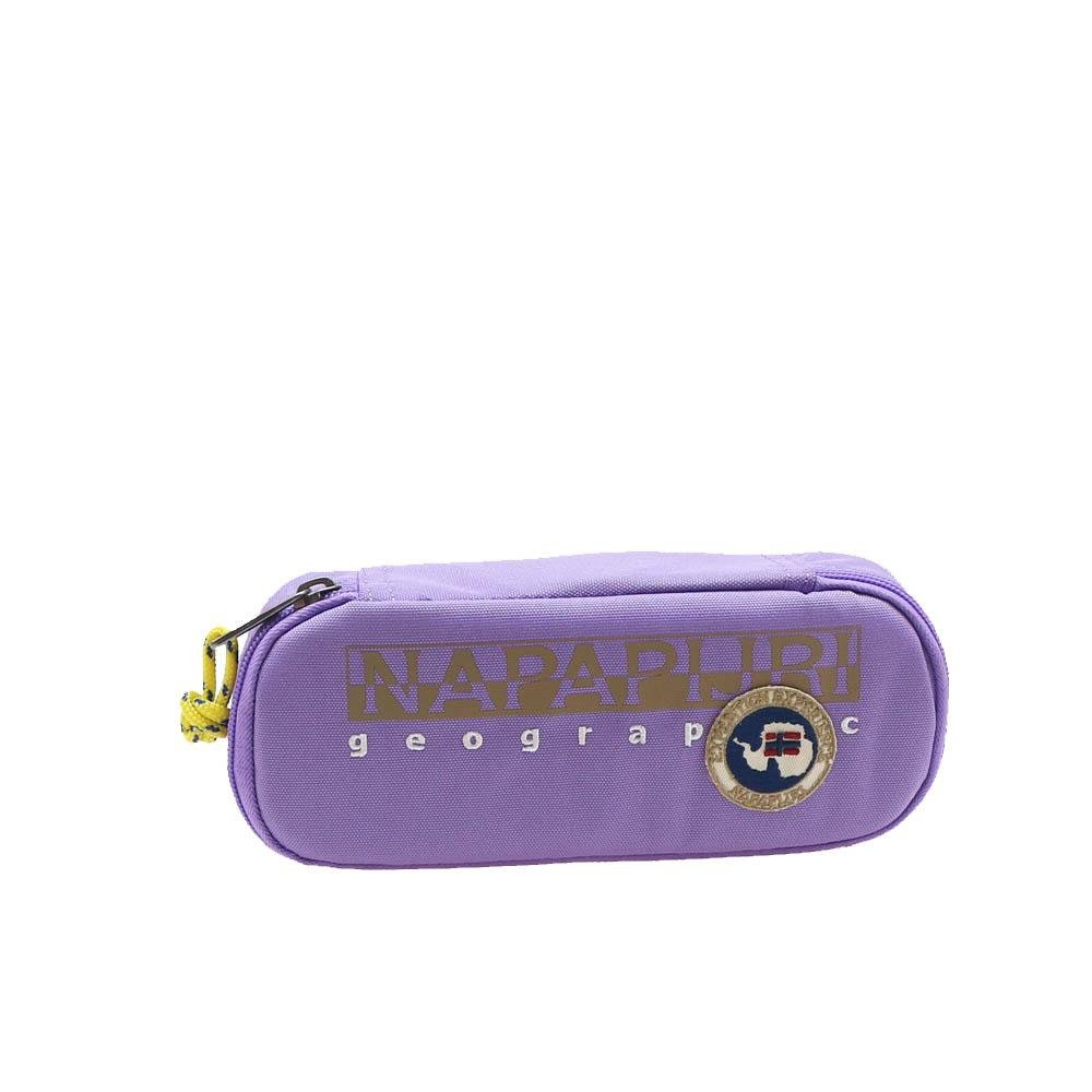Estuche ovalado North Cape Sheer Lilac Napapijri: Amazon.es ...
