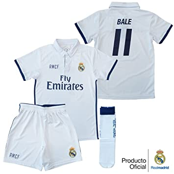 REAL MADRID- Kit 1ª Equipación Infantil 2016-2017 d8ed6a15b934c