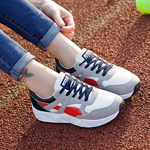 Shoes Running Grey frenulum Match GUNAINDMX Shoes Spring Shoes red Winter GUNAINDMXShoes Shoes All EnqwRgvO8w
