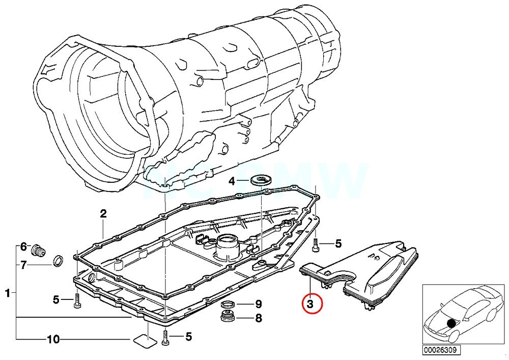 Amazon Com Bmw Genuine Oil Carrier Automotive