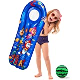 Amor Inflatable Pool Float Swimming Pool Floats Pool Float Mattress with a Watermelon Ball for Summer Party Swim Party