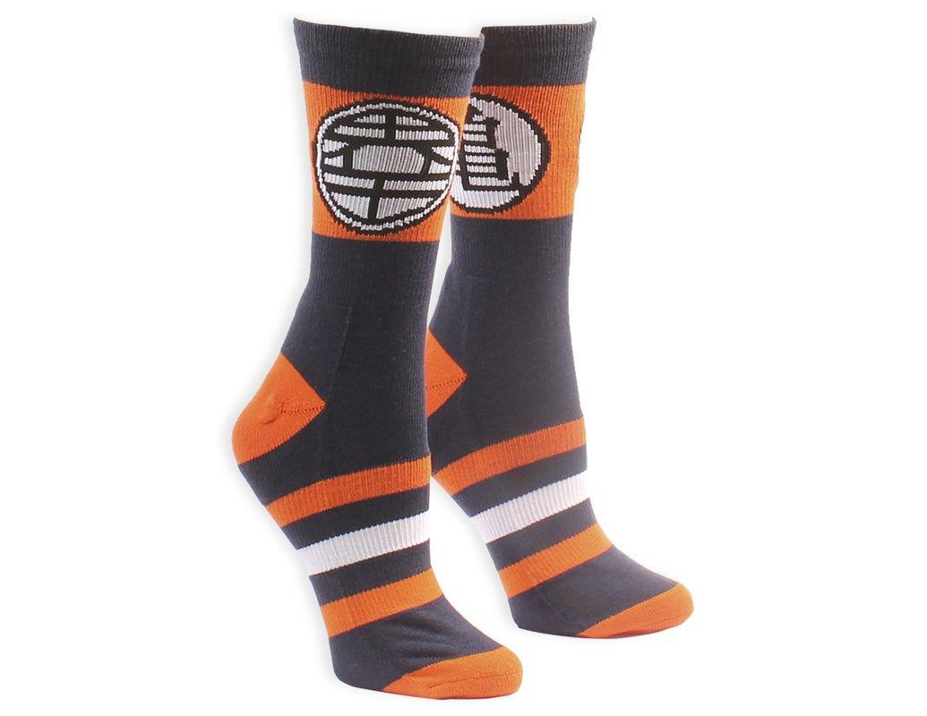 Dragon Ball Z Kame Symbol with Stripes Socks Blue