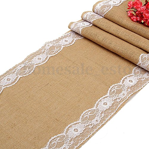 hessian-vintage-burlap-table-runner-white-flower-lace-natural-rustic-decor