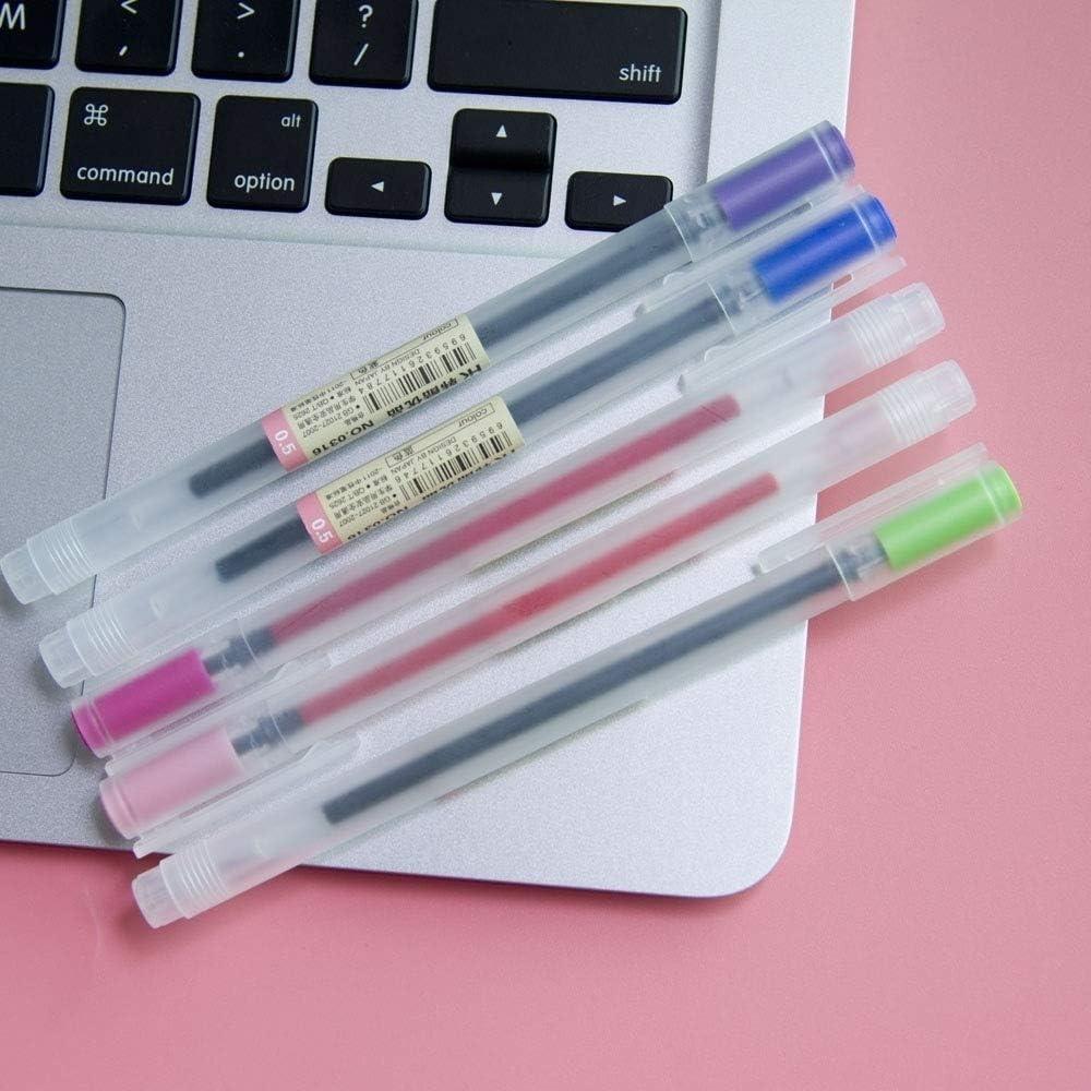 Yishaner stile ufficio evidenziatori da colorare 12 penne gel a 12 colori per scuola