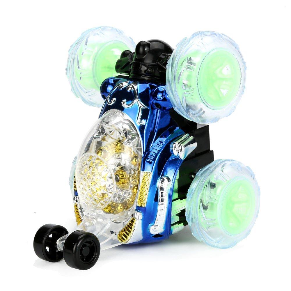 hkfv 360 ° Spinning y Flips con color flash & música para niños ...