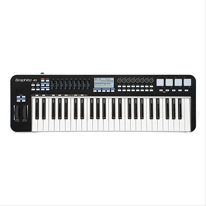 Teclado Midi Profesional Composición Musical Semi-peso ...