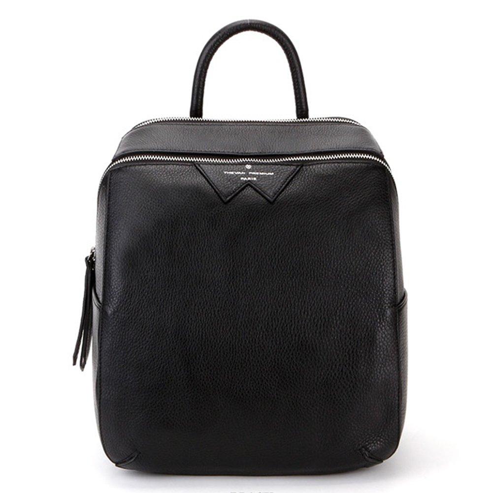 VF P903 Leather Backpack Black