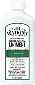 J.R. Watkins White Cream Liniment, 11 Ounce