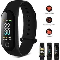 Smartwatch Pulsera Inteligente, Pulsera Reloj Inteligente Smartband IP67 Interfaz dinámica 3D pulsera inteligente medidor de ritmo cardíaco paso recuento actividad medidor consumo calorías detección de sueño pantalla de color / pronóstico del tiempo / llamada de rechazo / notificación telefónica / SMS / Twitter / WhatsApp