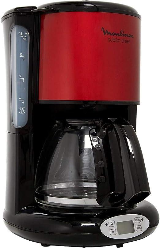 Moulinex FG362D10 - Cafetera programable acero inoxidable, color ...