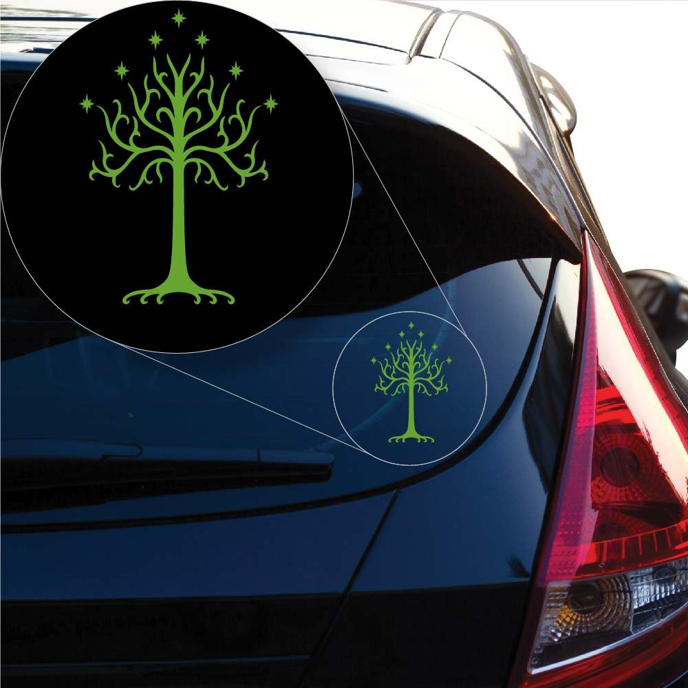 8 x 5.4, White 8 x 5.4 Yoonek Graphics Tree of Gondor Decal Sticker from Lord of The Rings for Car Window # 545 # 545 Motorcycle Walls Mirror and More Laptop Mirror and More