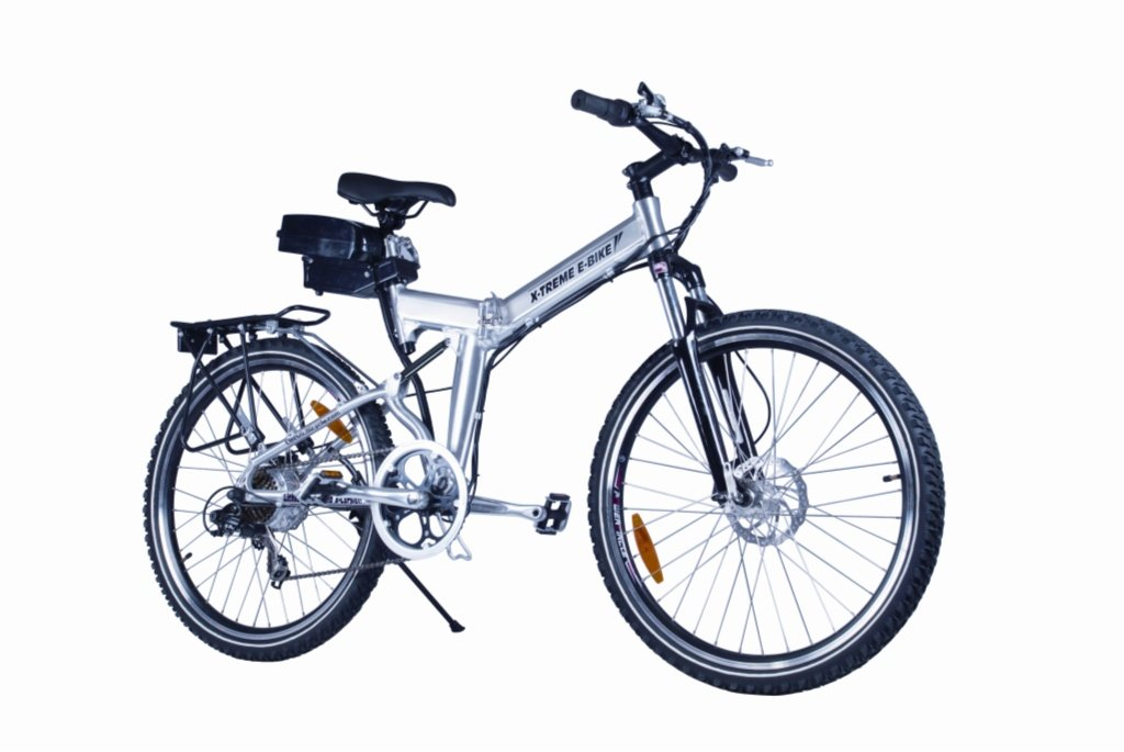 X-Cursion Electric Power Folding Mountain Bicycle by Xtreme B00QXRP3OM