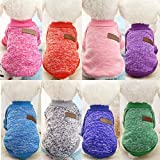 #5: vmree Dog Apparel, Pet Dog Puppy Classic Fleece Sweater Clothes Winter Warm Clothes