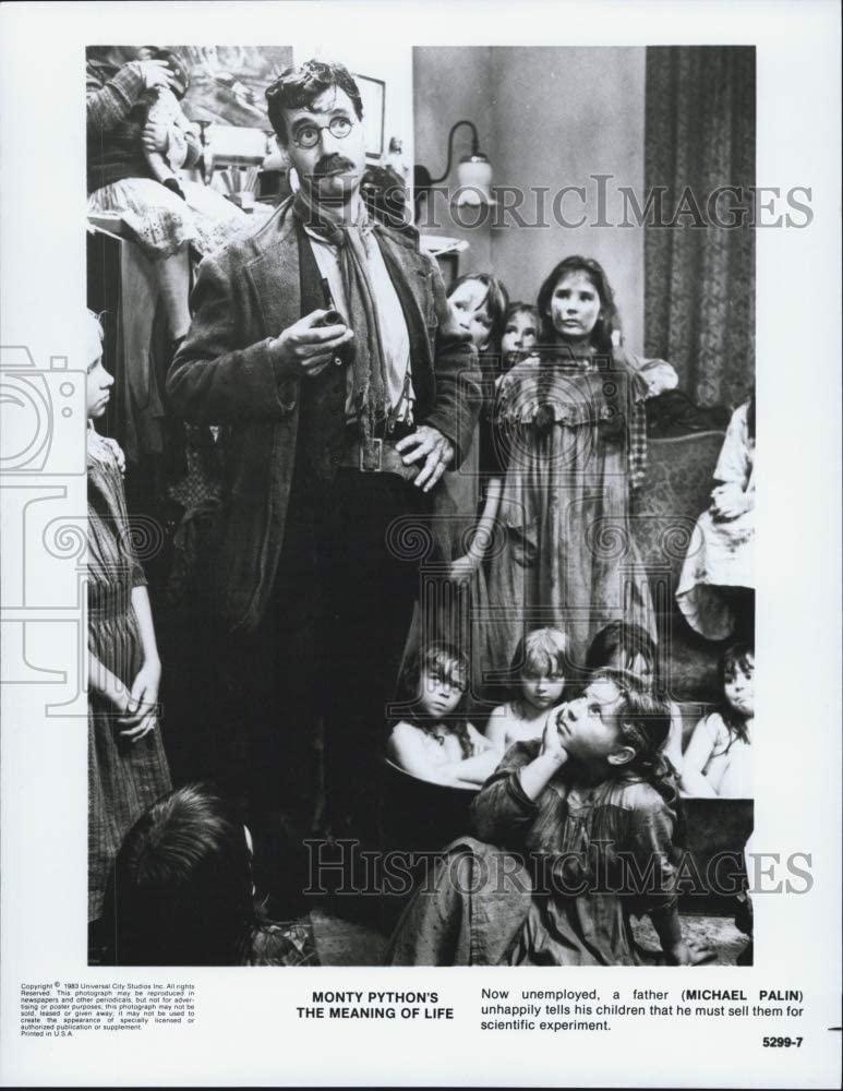 Historic Images 1983 Press Photo Michael Palin in Movie Monty Python's The Meaning of Life