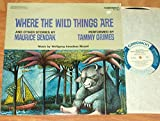 WHERE THE WILD THINGS ARE Maurice Sendak LP original US pressing Tammy Grimes MOZART childrens story / spoken word 1977 Caedmon TC 1531